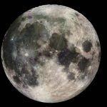 Luna, sus orígenes, características, fases y movimientos
