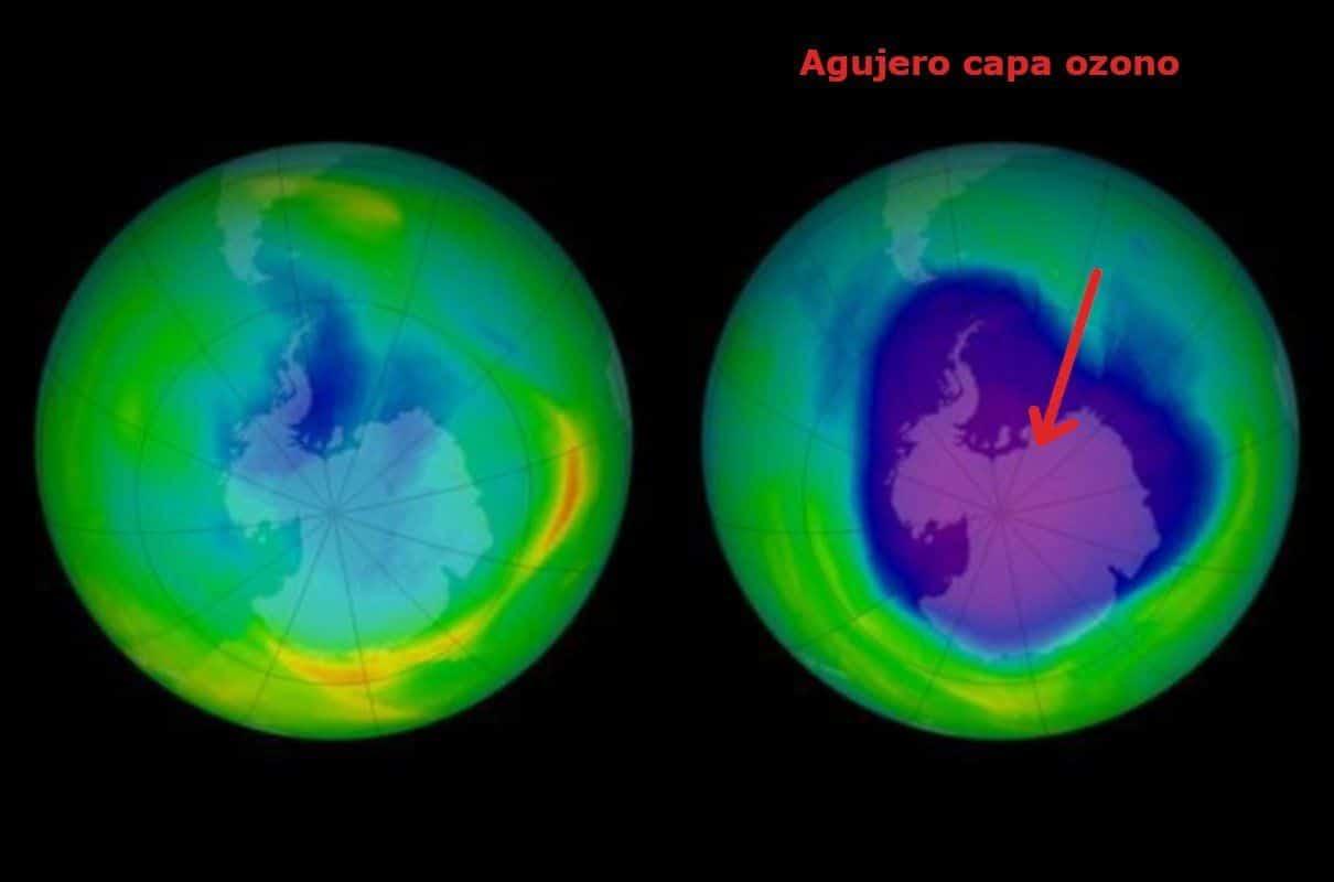 Agujeros de la capa de ozono